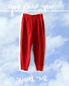 Bright blood pegged pants Pegged Pants, Online Shopping Clothes, Kids Wear, Cool Kids, Harem Pants, Blood, Sweatpants, Bright, How To Wear