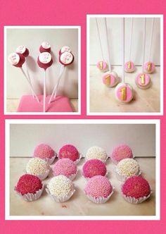 Cake pops Pink  Rosa