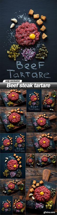 Beef steak tartare - 25 EPS