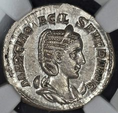 Observer MARCIA OTACIL SEVERE AVG. Empress Left. Marcia Otacilia Severa or Otacilia Severa was the Empress of Rome and wife of Emperor Marcus Julius Philippus or Philip the Arab, who reigned over the Roman Empire from 244 to 249.   eBay!