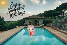 wie heeft zin in de zomer( Vakantie ) Enjoy Summer, I Am Happy, Outdoor Decor, Holiday, Vacation, I'm Happy, Holidays, Holidays Events