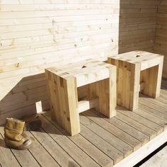 Luona-pihasaunat | Luona-saunajakkarat