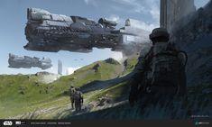 Space Ship Concept Art, Concept Ships, Weapon Concept Art, Environment Concept Art, Space Fantasy, Sci Fi Fantasy, Fantasy World, Spaceship Art, Spaceship Design