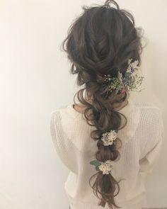 Cute Hairstyles, Wedding Hairstyles, When I Get Married, Handfasting, Flower Crown, Dyed Hair, Bridal Hair, Wedding Photos, Braids