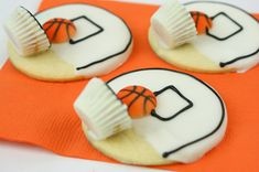 basketball cookies - cute - Corinna