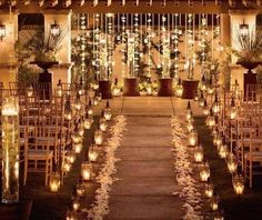 Candle Lit Winter Weddings