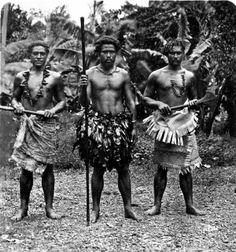 Îles Samoa - Apia - Guerriers
