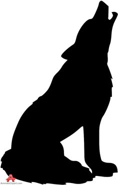 Howling Wolf Silhouette Clipart   Free Clipart Design Download - ClipArt Best - ClipArt Best