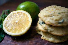 lemon lime basil cookies