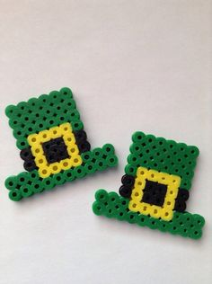 Hey, I found this really awesome Etsy listing at http://www.etsy.com/listing/178824410/stpatricks-day-perler-bead-hat