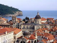 Dubrovnik, Croatia, Rooftops of the city