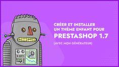 🔥 Créez votre thème enfant Prestashop 1.7 en un clic 🔥  Quand on met en place un site avec Prestashop, la bonne pratique veut, lorsqu'on utilise un thème existant, de créer un thème enfant.  Découvrez comment créer votre thème enfant à l'aide de mon générateur en ligne et apprenez-en plus sur le concept dans cette vidéo.  Et accédez  à mon générateur gratuit ! Les Themes, Aide, Place, It Works, Memes, Blog, Best Practice, Kid, Meme