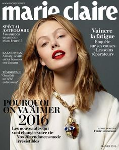 Marie Claire France January 2016