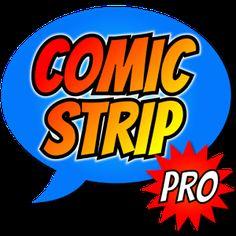 Comic Strip. Para hacer tiras cómicas utilizando  también imágenes de mi galería. Se pueden crear también Memes