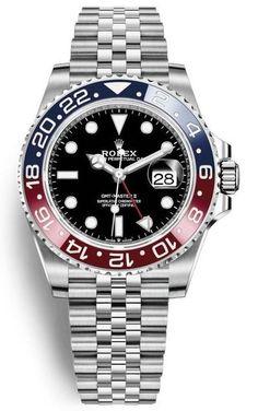 Rolex GMT-Master II Ref. 126710BLRO in Oystersteel