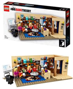 Bing Bang Theory en LEGO. #humor #risa #graciosas #chistosas #divertidas