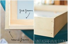 How To Make A Shadow Box @ Vintage Revivals