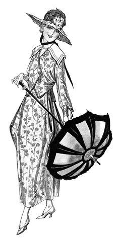 OldDesignShop_LadiesFashion1917-2.jpg (1331×2695)