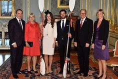Prince Carl Philip & Sofia Hellqvist held a private reception at the Royal Palace Prince Carl Philip, Princess Sofia, Royal Palace, Video News, Kate Middleton, Awkward, Sweden, Photo Galleries, Celebrities