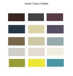 Colour Palette New Nordic, Nordic Style, Nordic Interior Design, Complimentary Colors, Colour Pallete, Pantone, Color Inspiration, Scandinavian, Colours