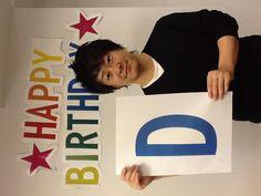 誕生日おめでとうー!もりもり!九州は食べ物、お酒がおいしいので少しウラヤマシーです。体に気をつけて頑張ってください!伊藤