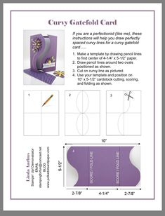 card, pergamano and tables - Page 14 - card, pergamano and tables – Page 14 - Card Making Templates, Card Making Tutorials, Card Making Techniques, Step Cards, Diy Cards, Fancy Fold Cards, Folded Cards, Stampin Up Anleitung, Shaped Cards