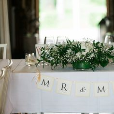 Gray Wedding Decorations + Accents