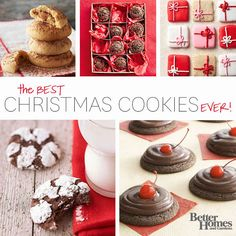 The best Christmas cookies from Better Homes and Gardens.