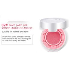 BIOAQUA Blush Powder Blusher Bronzer Eye Shadow Natural Makeup Balm Pink 3 Kind (02 PEACH PINK) >>> This is an Amazon Affiliate link. You can find out more details at the link of the image.