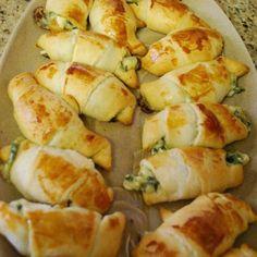 Spinach Feta Crescent Snacks