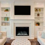 What kind of tv wall fireplace is right for me 13 | homezideas Fashion Room, Front Room Design, Room Makeover, Lounge Room Styling, Room Design, Drawing Room Design, Home, Room Decor, Interior Design Living Room