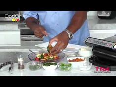 Cooking Vegetables on T-fal's OptiGrill