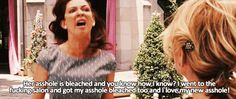 bridesmaids quotes | Bridesmaids (2011) Quote (About asshole, bleached, gifs) | We Heart It