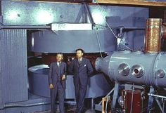 60-inch cyclotron with Cooksey and Lawrence