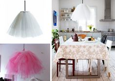 Liv, the tutu lamp E Design, Interior Design, Tulle Tutu, Rum, Household, Arts And Crafts, Lights, Table Decorations, Furniture