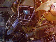 MKII Juggernaut by Saizen Media, via Behance