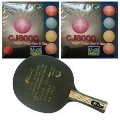44.44$  Watch now - http://aliq8n.worldwells.pw/go.php?t=32635421588 - Pro Table Tennis/ PingPong Combo Racket: Palio TCT Blade with 2x Palio CJ8000 (BIOTECH) 36-38 degree Rubbers