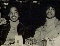 Morris Day and Prince. Minnesota's finest.