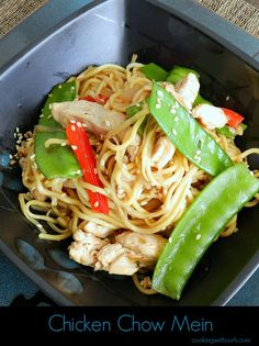 Chicken Chow Mein cookingwithcurls.com