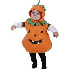 Toddler Plump Pumpkin Costume