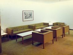 Furniture photos from Japan in the 1960's.