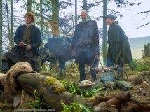 Outlander 109 - Sam Heugan, Graham McTavish and Bill Paterson