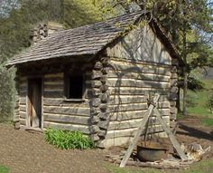 The replica log cabin represents the homes of early settlers in the groves of Northeastern Illinois. Description from ahmuseum.org. I searched for this on bing.com/images
