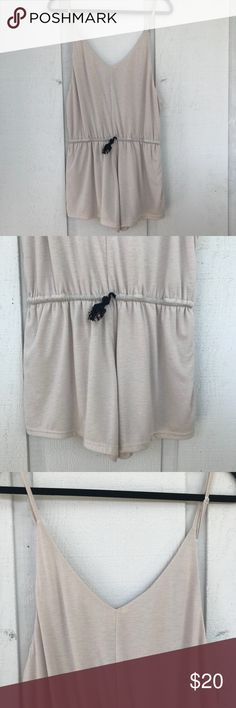 Comfy Sabo Skirt romper Super soft and stretchy romper with a black draw string detail. Never worn!! Sabo Skirt Other
