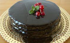 La cuina de casa: Bescuit amb Glaça de Xocolata