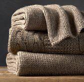 Alpaca Knit Throw - Restoration Hardware