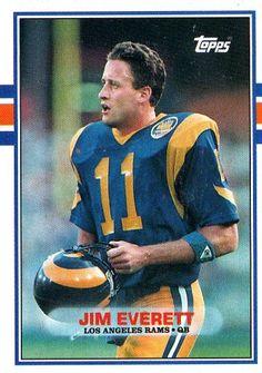 #2 QB #25 Ram Jim Everett19861993