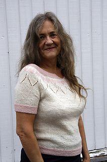 Bladhjerte / Leaf heart Sommertopp pattern by Hilde Helgedatter Heart Patterns, Ravelry, Knitwear, Tights, Lace, Tops, Design, Women, Fashion