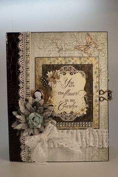 Mini Album - Heartfelt Creations Sunny Day paper collection was used in creating this beautiful album.