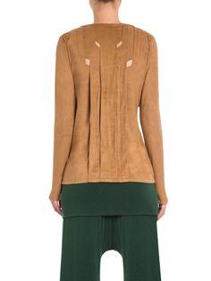 Camiseta Feminina Jacaranda - A. Niemeyer - Marrom - Shop2gether